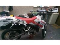 Yamaha yz 125 evo bike 89 model