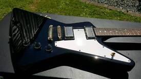 Epiphone Gibson '58 Korina Explorer. Swap Amp