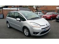 7 SEATER CITROEN GRAND PICASSO 2.0 HDI 16V VTR+EGS 2007 DIESEL GOOD CONDITION FULL MOT **CHEAP**