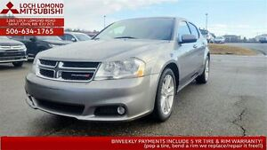 2013 Dodge Avenger SXT - LOADED FOR ONLY $110/BW