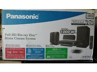 Panasonic scbt100 home cinema + free bike