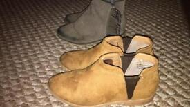 Girls boots size 12 and 13