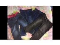 12-18 month girls bundle of jeggings/jeans