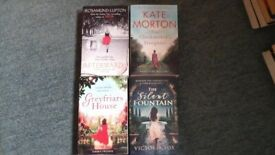 4 paperback books, various authors. Genre: Crime/Thriller/Mystery