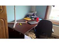 5ft Solid Wooden Desk