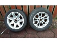 Bmw alloy wheels 5 series e39