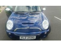 Mini Cooper with an S Kit. Mot'd excellent driver. Looks like a Cooper S