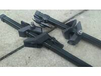 Band new roof bars lockable