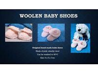 Cute Woolen Baby Shoes!