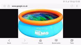 Finding nemo 3d paddling pool