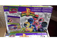 JOB LOT OF 12 EXTRA LARGE BOXES OF POWER RANGERS MAGIC MAKER CREEPY CRAWLERS MOULD KIT
