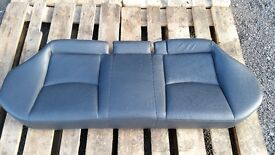 MERCEDES C CLASS W203 REAR LEATHER SEAT