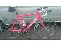 Road bike large frame