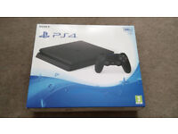 Brand new Playstation 4 Slim (500Gb) with Tritton 5.1 Surround sound and headset + game