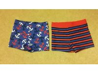 BNWOT - Boys Marks and Spencers swimming trunks