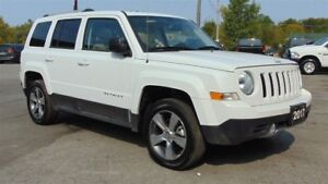 2017 Jeep Patriot HIGH ALTITUDE 4X4 - LEATHER - SUNROOF - 6,500
