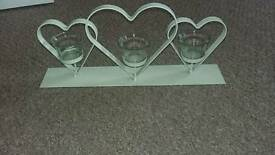Hearts candle holder