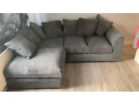JUMBO CORD / 3 + 2 SEATER SOFA AVAILABLE IN DIFFERENT COLORS ORDER NOW..