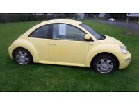 2001 vw beetle 2.0 petrol full service history