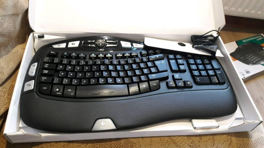 Logitech Wireless Keyboard K350 UK Layout   in Ballymena, County Antrim    Gumtree