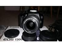 Canon DSLR 1300d camera and accessories