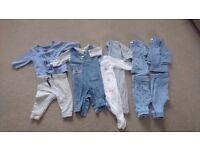 Baby boy Next clothing bundle 0-3 months