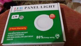 Square 6w LED PANEL LIGHTS