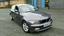 Bmw 118d 2.0se 6speed 1 private owner grey