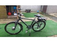 Raleigh Velo XC Electric bike. Used 3 times RRP £1000 sale for £500 ONO Bargain