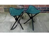 Brand new camping stools