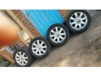 "GOLF MK5 16"" alloy wheel with tyres"