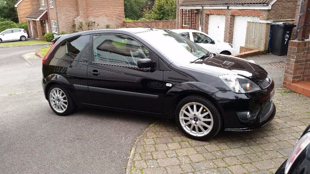 2006 ford fiesta zetec s mk6 black petrol in poole. Black Bedroom Furniture Sets. Home Design Ideas