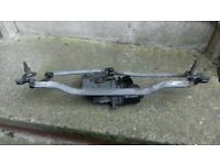 Corsa b front wiper motor with wiper linkage for sale