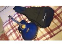 Left-Handed Electro-Acoustic Guitar NEW
