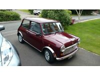 Austin Mini 1998 Left Hand Drive Lovingly Restored