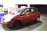 renault megane scenic 1.6 petrol 16v 2005 m.o.t just out