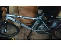 Trax TRC1 Mens Bicycle Bike Silver
