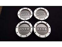 Centre caps for Audi Wheels x4