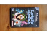 Luigi's Mansion Gamecube Game, boxed with booklet. UK PAL version