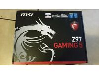 Haswell Motherboard MSI Z97 Gaming 5 - Worth £130+ - Bent CPU Pins
