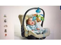 Tiny Love Take Along Mobile Fits strollers, infant car seats, carrycots and cribs