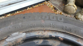 PIRELLI 195/50 R15 4 STUD 15inch; SPARE TYRE FOR SALE