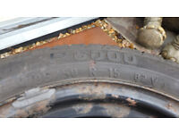 PIRELLI 195/50 R15 4 STUD SPARE TYRE FOR SALE