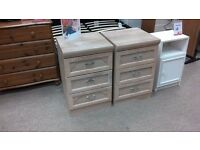 Lovely bedside tables £15 each.