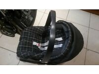 mamas & papas free styler pushchair and car seat with base, used, good working condition
