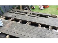 Old decking - free to collect!!