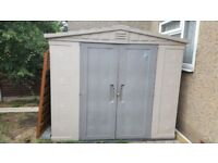 keter shed 8x6