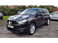 2010 Nissan Qashqai 1.5 dCi Acenta, 62,000 miles, Service History, 2 keys, 12 Months MOT, Very Clean