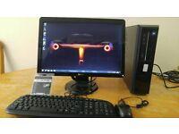 Dell Vostro 230 Computer Slim Form PC & Dell 21 Widescreen - Last ONE Bargain - Save £20