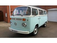 vw camper t2 resprayed ready to go